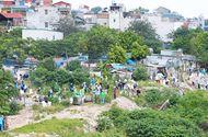 Việc tốt quanh ta - Hơn 100 tình nguyện viên thu dọn rác khu vực chân cầu Long Biên