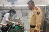 Việc tốt quanh ta - CSGT kịp thời đưa người phụ nữ bị tai nạn đi cấp cứu