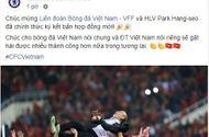 Thể thao - Ngỡ ngàng trang chủ Chelsea gửi lời chúc tới HLV Park Hang-seo gia hạn hợp đồng