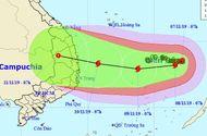 Tin trong nước - Tin tức dự báo thời tiết mới nhất hôm nay 8/11/2019: Bão số 6 giật cấp 14 tăng tốc, hướng vào Quảng Ngãi- Khánh Hòa