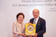 Thị trường - Tập đoàn BRG phối hợp tổ chức sự kiện kết nối giữa doanh nghiệp Việt Nam và phái đoàn thương mại Hoa Kỳ do Bộ trưởng Wilbur Ross dẫn đầu