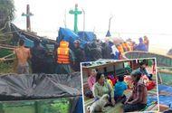 Tin trong nước - Bão số 6 giật cấp 11 đổ bộ gây mưa lớn, hàng chục nghìn hộ dân mất điện