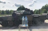 Video-Hot - Video: Kinh ngạc với khả năng mở nắp chai hoàn hảo bằng nòng súng của xe tăng