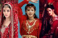 """Giải trí - Mỹ nhân cổ trang Hoa ngữ đọ sắc với váy đỏ: Người xinh đẹp diễm lệ, kẻ """"rực lửa"""" hận thù"""