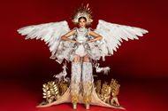 Giải trí - Choáng váng với bộ trang phục nặng 30 kg của Hoàng Thuỳ