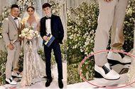 Giải trí - Chồng Bảo Thy đi giày độn đế hơn 10 cm để xứng với vợ?