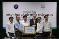 Truyền thông - Thương hiệu - Nestlé Việt Nam ủng hộ Bộ Y tế 88.000 khẩu trang cho hoạt động chống COVID-19