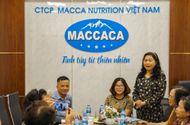 Truyền thông - Thương hiệu - Hội đồng hương Phụ nữ Nghệ An tại Hà Nội thăm và làm việc với Công ty Macca Nutrition