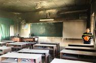 Tin trong nước - Đà Nẵng: Cháy phòng học nhạc ở trường THCS Lê Hồng Phong