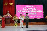 Tin trong nước - Phó giám đốc Công an Thừa Thiên Huế được bổ nhiệm làm Giám đốc Công an Quảng Trị