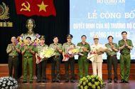 Tin trong nước - Đại tá Võ Trọng Hải làm Giám đốc Công an tỉnh Nghệ An
