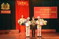 Tin trong nước - Bổ nhiệm 2 Phó giám đốc Công an tỉnh Phú Thọ