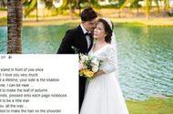 """Cộng đồng mạng - Chú rể ngoại quốc bất ngờ đăng dòng trạng thái có nội dung """"lạ"""" dành cho cô dâu 65 tuổi"""