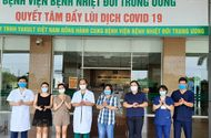 Tin trong nước - Thêm 4 nữ bệnh nhân khỏi bệnh, Việt Nam có 340 ca khỏi COVID-19