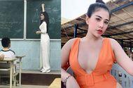Giáo dục pháp luật - Chuộng ăn mặc hở bạo bên ngoài bục giảng, nữ giáo viên khiến dân mạng tranh cãi gay gắt