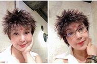 """Giải trí - """"Sốc toàn tập"""" trước kiểu tóc cắt ngắn, dựng ngược như đàn ông của NSND Lan Hương"""