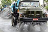 Tin trong nước - Cận cảnh xe đặc chủng phun thuốc khử khuẩn toàn quận Sơn Trà