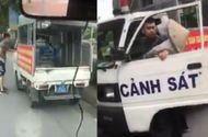 Tin trong nước - Điều tra làm rõ vụ nghi công an mặc quần đùi, áo cộc đi xử lý bán hàng rong ở Hà Nội