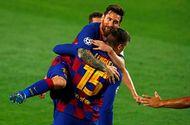 Bóng đá - Lập siêu phẩm đưa Barca vào tứ kết, Messi đi vào lịch sử Champions League