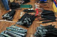 """An ninh - Hình sự - Phát hiện cả kho vũ khí """"khủng"""" tại TP.HCM: Tạm giữ 1 đối tượng để điều tra"""