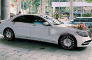 """Ôtô - Xe máy - Bóc giá """"xế xịn"""" Mercedes-Maybach S450 trong đám cưới Công Phượng: Đèn nội thất 64 màu, cửa sổ trời đổi màu"""