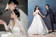 Thể thao - Trọn bộ ảnh cưới đẹp như mơ của trung vệ Bùi Tiến Dũng và cô dâu Khánh Linh
