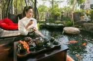 Kinh doanh - Có gì trong biệt thự sang chảnh 220m2, hồ cá Koi triệu đô của Nhật Kim Anh?