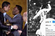 """Bóng đá - Huyền thoại bóng đá Pele lên tiếng sau tin đồn thay đổi thông tin cá nhân vì bị Ronaldo """"vượt mặt"""""""
