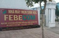 Kinh doanh - Thái Bình: Xử phạt 350 triệu đồng đối với công ty Febecom do có nhiều sai phạm trong sản xuất