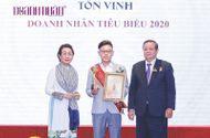 """Y tế - CEO Dược Mộc Khang được vinh danh """"Doanh nhân Việt Nam tiêu biểu 2020"""""""