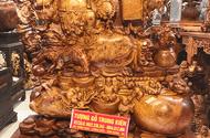 Quyền lợi tiêu dùng - Làm tượng Phật gỗ luôn được chú trọng tại cơ sở sản xuất tượng gỗ Trung Kiên