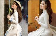 """Cộng đồng mạng - Mê mẩn vẻ đẹp nền nã của cô gái được mệnh danh """"thiên thần áo dài"""""""