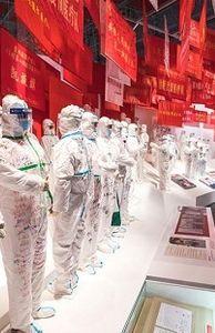 """- Vũ Hãn tổ chức triển lãm với 1.000 hiện vật tái hiện """"cuộc chiến chống COVID-19"""""""