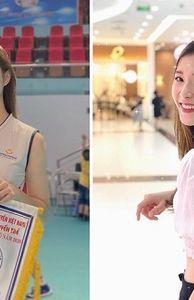 - Ngẩn ngơ trước vẻ đẹp tuổi 18 của hot girl bóng chuyền Việt Nam