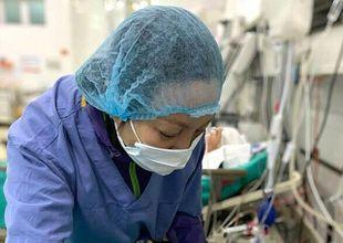Vợ nuốt nước mắt hiến tạng chồng chết não cứu người