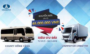 Thế giới Xe - Siêu ưu đãi giảm giá 65 triệu khi mua xe Vinamoto đồng vàng trong tháng 11