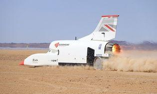 Thế giới Xe - Xe đua lắp động cơ phản lực cán mốc tốc độ siêu nhanh 1.010 km/h