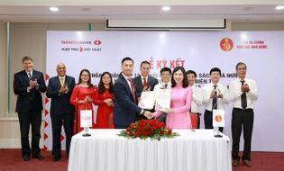 Tài chính - Doanh nghiệp - Kho bạc Nhà nước ký thỏa thuận với Techcombank về phối hợp thu ngân sách và thanh toán song phương điện tử
