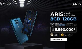 Sản phẩm số - Ra mắt Vsmart Aris nâng cấp cấu hình 8GB RAM/128GB giá không đổi