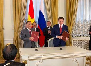 Xã hội - Hội Luật gia Việt Nam ký kết Thỏa thuận hợp tác chiến lược với Hội Luật gia Liên bang Nga
