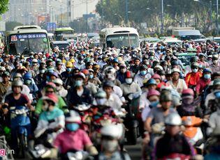 Tin trong nước - Đề xuất thu phí ô tô vào trung tâm Sài Gòn để giảm ùn tắc