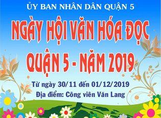 """Xã hội - UBND quận 5 (TP.HCM) tổ chức """"Ngày hội văn hóa đọc"""" phục vụ người dân"""