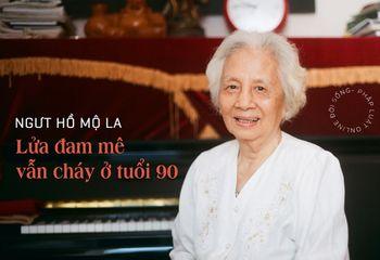Giải trí - [E] Nhà giáo ưu tú Hồ Mộ La: Lửa đam mê vẫn cháy ở tuổi 90