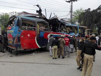 Nổ bom ở Pakistan: Ít nhất 15 nhân viên chính phủ thiệt mạng - ảnh 1