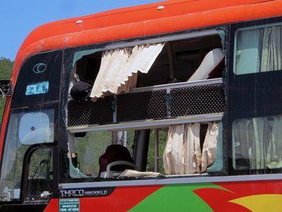 Bắt đối tượng gài mìn trong gói hàng gửi xe khách gây nổ lớn - ảnh 1