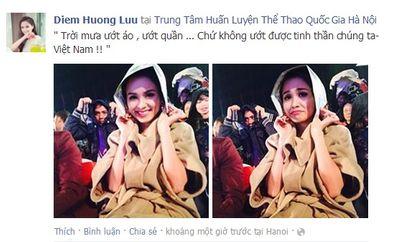 """Facebook Sao: Văn Mai Hương """"hường quá"""", Đỗ Mạnh Cường xin được bình yên - ảnh 1"""