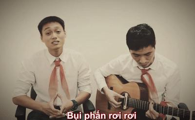 """Ngày 20/11: Hài hước với ca khúc """"Bụi phấn"""" phiên bản 2014 - ảnh 1"""