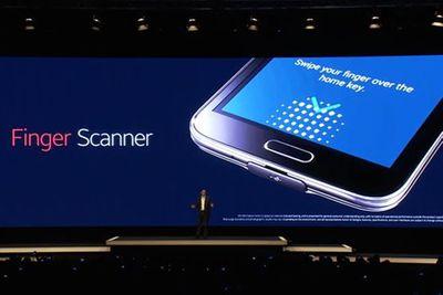 Galaxy S5: khác biệt từ cảm biến vân tay - ảnh 1