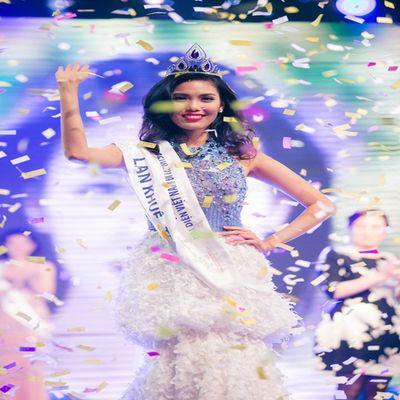 Tranh cãi quanh việc Lan Khuê đại diện Việt Nam thi Hoa hậu Thế giới - ảnh 1