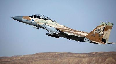 """Israel điều chiến đấu cơ """"đáp trả"""" 2 xe tăng Syria - ảnh 1"""